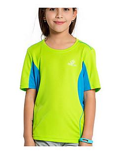 Kid's Tops Leisure Sports Quick Dry Summer Yellow OrangeM L XL