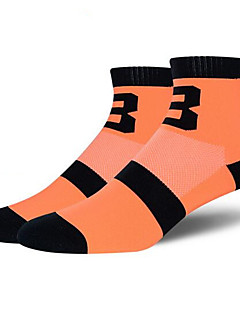 Men's Socks Leisure Sports Cycling BikeBreathable Quick Dry Wearable Anti-skidding Non-Skid Antiskid Limits Bacteria Sweat-wicking