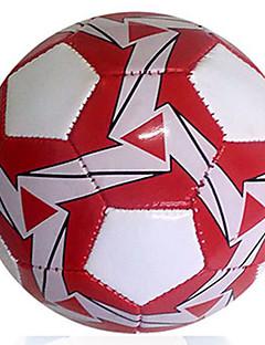 Høy Elastisitet Holdbar-Fotball(Hvit Rød,Lær)