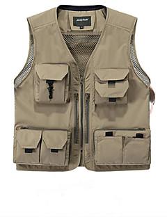 Trilha Blusas Homens / UnissexoImpermeável / Respirável / Resistente Raios Ultravioleta / Secagem Rápida / Á Prova-de-Chuva / Zíper