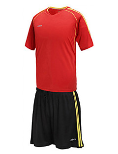 Herre Unisex Fotball Shorts Klessett/Dresser Topper Pustende Fort Tørring Bekvem Vår Sommer Høst Polyester Racerløp Fotball
