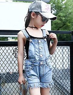 Girls' Casual/Daily Solid Jeans Summer