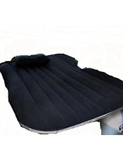 Carro cama de ar colchão duplo (135 * 85 * 40cm) reunindo-se com bomba de ar impermeável portátil inflável confortável