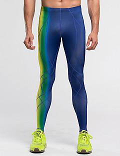 Pánské Běh Kalhoty Legíny Spodní část oděvu Rychleschnoucí Komprese Lehké materiály Jaro Léto Běh