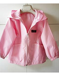 Anzug & Blazer Lässig/Alltäglich einfarbig Baumwolle Frühling Herbst Lange Ärmel