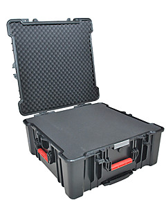 128 L Waterproof Dust Proof Wearable Hardshell Multifunctional Shockproof Black