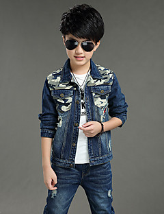 Boys' Casual/Daily Solid Sets,Others Spring Fall Long Sleeve Clothing Set