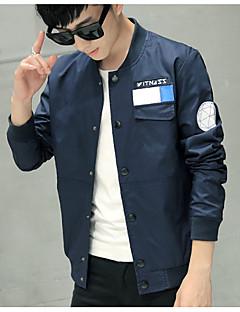 Primavera fina seção casaco jaqueta homens&# 39; s coreano juventude slim casaco de beisebol coleira homens&Camisa