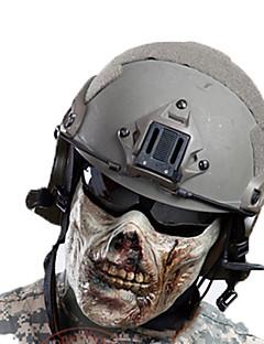 男女兼用 フェイスマスク 狩猟 レジャースポーツ 高通気性 防風 耐久性 春 夏 秋 冬 グレー