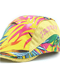 כובע כומתה (בארט) דפוס כותנה קיץ כל העונות וינטאג' יום יומי יוניסקס