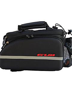 תיק אופניים 10-35Lתיקים למטען האופניים פס מחזיר אור חסין זעזועים ניתן ללבישה רב תכליתי תיק אופניים EVA 210D ניילון תיק אופנייםרכיבה על