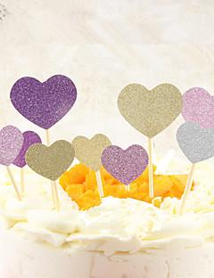 デコレーションツール ハート ケーキのための チョコレートのための パン用 カップケーキのための 出芽 プラスチック
