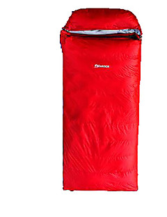 寝袋ライナー 封筒型 シングル 幅150 x 長さ200cm 0-14 ポリエステル ダックダウンX80 ハイキング キャンピング 旅行 携帯用