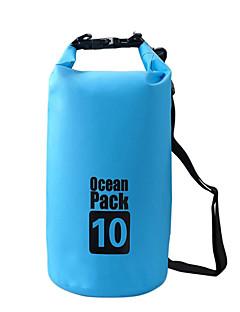 10 L Bolsa Impermeável Bolsa Seca Prova-de-Água Vestível para Alpinismo Natação Praia Acampar e Caminhar