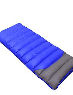 Спальный мешок Прямоугольный Односпальный комплект (Ш 150 x Д 200 см) -18 Утиный пухX85 Походы Путешествия На открытом воздухе В помещении