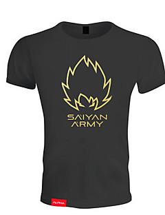 男性用 ランニングTシャツ 半袖 高通気性 ソフト 快適 Tシャツ のために エクササイズ&フィットネス レジャースポーツ バドミントン ランニング コットン スリム ブラック M L XL XXL