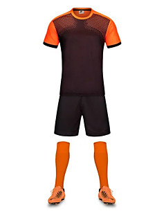 Homme Football Ensemble de Vêtements Séchage rapide Respirable Eté Polyester Football