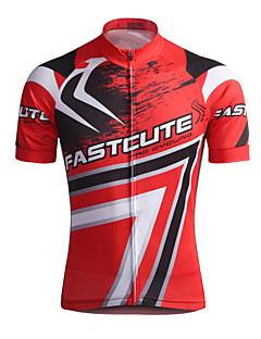 Fastcute Camisa para Ciclismo Homens Manga Curta Moto Camisa/Roupas Para Esporte Blusas Secagem Rápida Respirável Redutor de Suor Coolmax