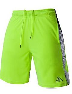 Muškarci Bicikl Kratke hlače Prozračnost Udobnost Sportske Biciklizam/Bicikl Obala Crn Sive boje Zelen