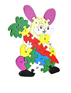 Puzzles Kit de Bricolage Blocs de Construction Jouets DIY  Rabbit