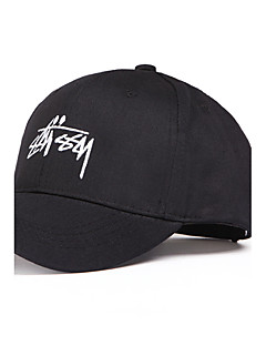 Baseball Cap Sun Hat Rose Embroidered Men's Women's Summer Leisure Holiday Cotton Couple's