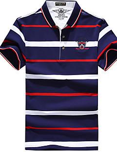 男性用 ハイキング Tシャツ サイクリング Tシャツ のために ランニング オールシーズン M L