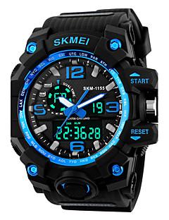 SKMEI Pánské Sportovní hodinky Digitální hodinky Digitální Silikon Kapela Černá