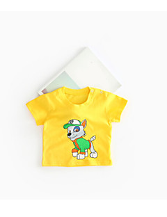 bebê Camiseta Cor Única