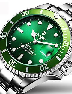 Homens Relógio Elegante Relógio de Moda Relógio de Pulso relógio mecânico Automático - da corda automáticamente Calendário Impermeável