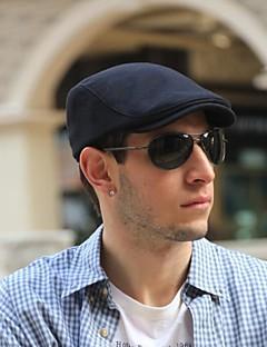 כובע דלי מוצק אריג כותנה כל העונות ביגוד לראש מבוגר צבע טהור