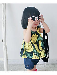Baby T-skjorte Ensfarget
