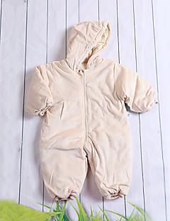 bébé Enfant Naissance Coton Décontracté / Quotidien Couleur unie Une-Pièce Toutes les Saisons