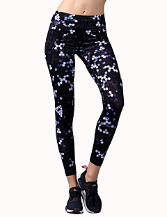 Pantalon de yoga Collants Bas Extensible Taille moyenne Extensible Vêtements de sport Femme BARBOK Yoga Course Pilates Danse