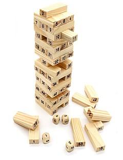 Bouwblokken Educatief speelgoed Voor cadeau Bouwblokken Rechthoekig Hout Alle leeftijden Speeltjes