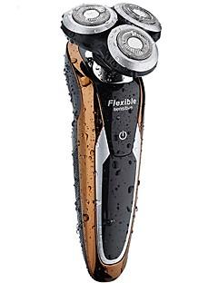 Rasoirs électriques Homme et Femme Visage 220V Etanche Design mince Design portatif Léger et pratique Silencieux et muet Bruit faible