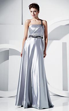 Коктейльные платья из атласа