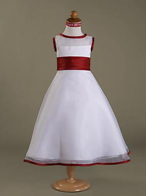 HUNTER - שמלת נערת פרחים מ- אורגנזה