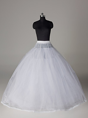 Nylon Ball Gown Full Gown 8 Tier Floor-length Slip Style/ Wedding Petticoats