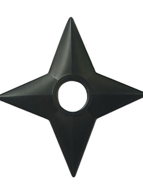 Arma Inspirado por Naruto Fantasias Anime Acessórios de Cosplay Arma Preto Engenharia Plástica Masculino / Feminino