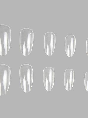 100 pro heldere en valse acryl nail art tips