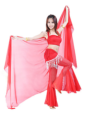 Acessórios de Dança Acesssórios de Palco Mulheres Actuação Chifon