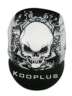 כובע מצחייה לרכיבה על אופניים כובעים אופנייים ייבוש מהיר לגברים אפור / שחור 100% פוליאסטר