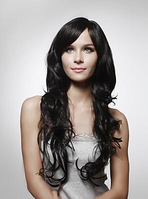 capless longues 100% cheveux naturels humains regarde cheveux bouclés perruque 5 couleurs au choix