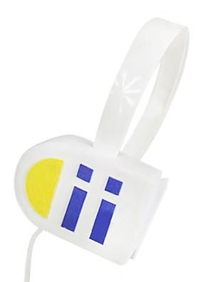 אביזרים נוספים קיבל השראה מ Vocaloid Kagamine Len אנימה / משחקי וידאו אביזרי קוספליי אוזניות לבן PVC זכר