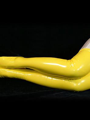 PVC keltainen Long Sukkahousut (2 kpl)