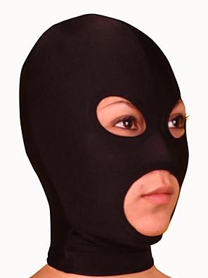 Maska Ninja Zentai Cosplay kostýmy Černá Jednobarevné Maska Lycra Unisex Halloween / Vánoce