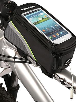 ROSWHEEL® תיק אופנייםתיקים למסגרת האופניים עמיד למים / רוכסן עמיד למים תיק אופניים חומר עמיד למים / בד תיק אופניים רכיבה על אופניים