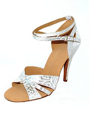 op maat van vrouwen dansvoorstelling schoenen met enkelbandje en gesp