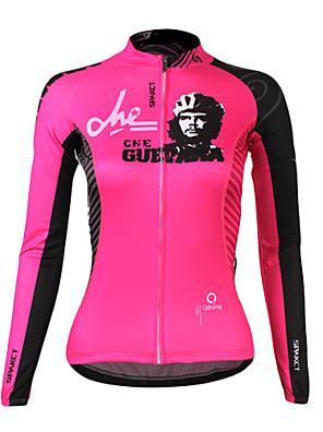 SPAKCT® חולצת ג'רסי לרכיבה לנשים שרוול ארוך אופנייםנושם / שמור על חום הגוף / ייבוש מהיר / עמיד אולטרה סגול / לביש / חדירות גבוהה לאוויר