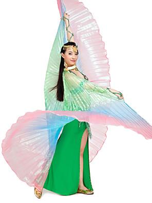 Graciosa Desempenho Polyester Belly Dance Isis Asa Para a Mulherada